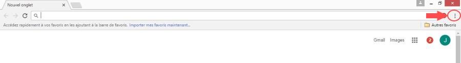 modifier page d accueil Chrome