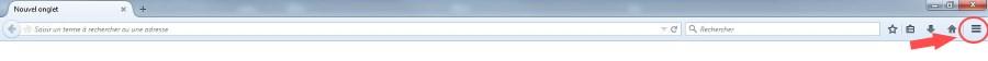 modifier la page d'accueil Firefox