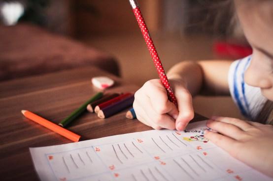 calendrier scolaire - enfant