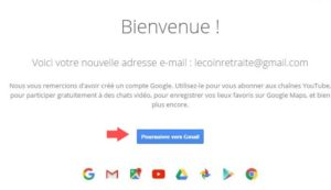 creer une nouvelle adresse gmail
