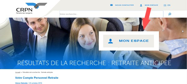 caisse retraite air france
