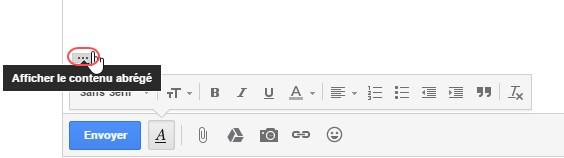 reponse au mail gmail