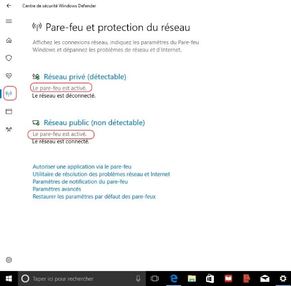 option firewall windows