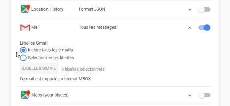 supprime compte gmail mail