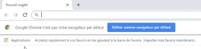 Chrome par defaut