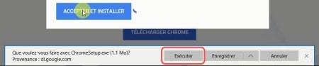 execute chromesetup
