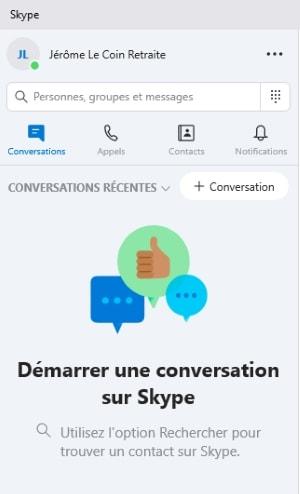 utiliser Skype